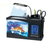 plastic fascinaties usb mini desktop aquarium aquarium