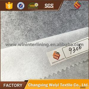 Non woven fusible interlining/stitch bond interfacing