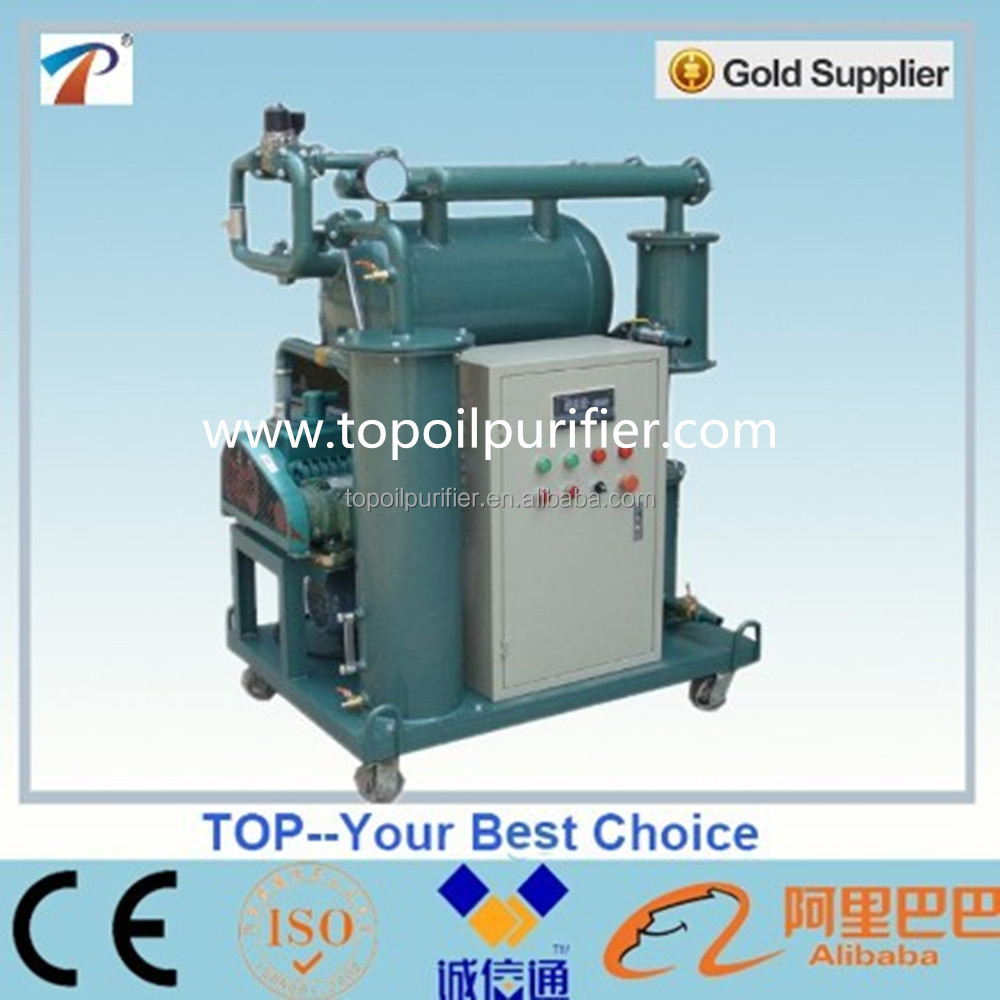 Hot sale series ZY transformer oil processing machine/insulation oil purifier/oil filtration
