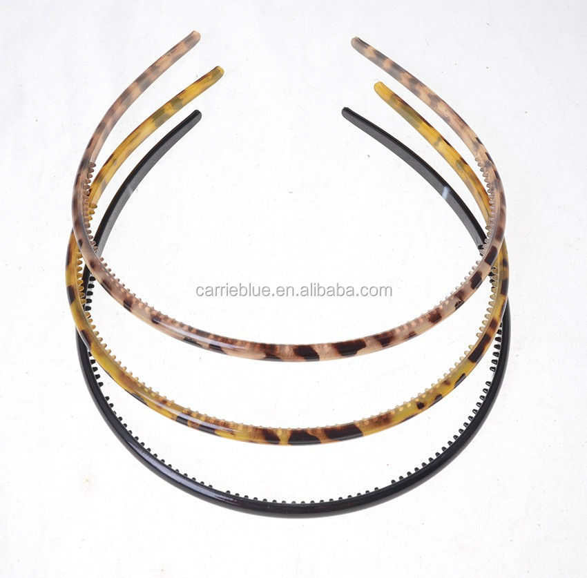 Wholesale Fashion Smooth Bow Hairband Hoop Jewelry Finding Hair Band
