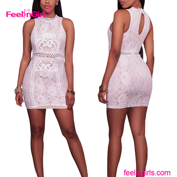 See Through Tight Dress