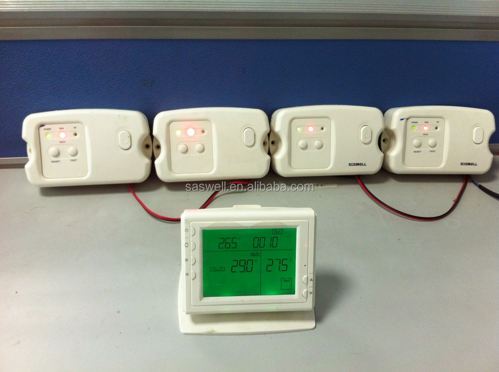 7day self learning multi wireless zone controller