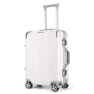 Hot selling hand luggage trolley travel unique luggage sets big capacity good quality suitcase