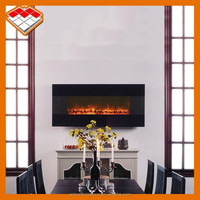 Wall mounted or insert 220v luxury led electric fireplace remote control for sale in guangzhou