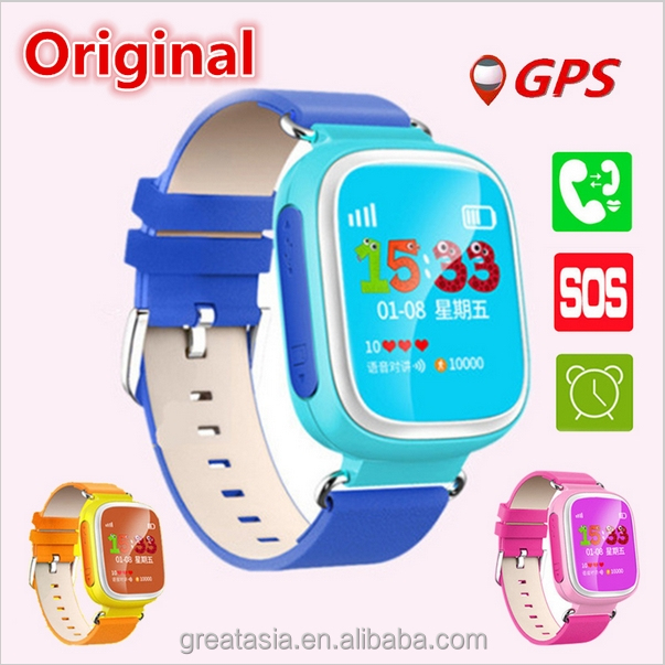 Smart Baby Watch Q80,Toobur Global Positioning System GPS Tracker Smartwatch for IOS Android smart phone