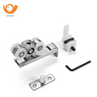 wooden hanging sliding door aluminum alloy ultra quite roller wheel