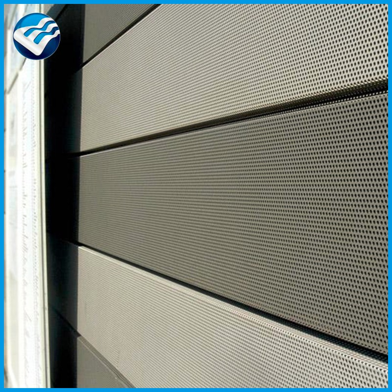 hexagon pipe perforated wire mesh sheet display panels