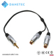 China factory custom 1 core high grade low noise microphone cable
