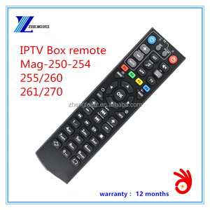mag 250 Remote Control for IPTV SET TOP BOX mag254 thick old remote with High quality
