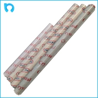 plastic industry embossed metallized pvc film