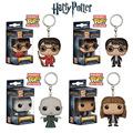 Pocket Funko Pop Keychains Harry Potter Hermione Dark Lord Voldemort Vinyl Figure Key Chain Game of