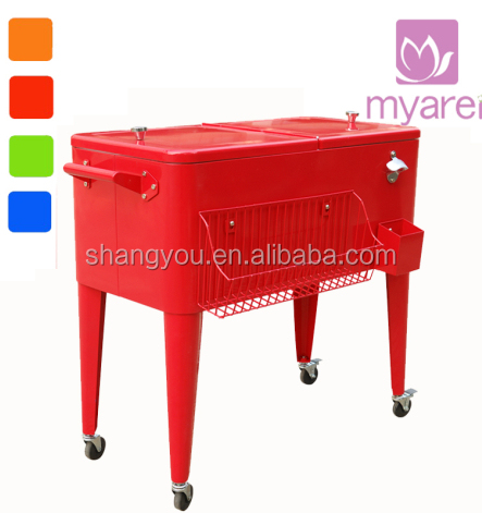 Rolling Patio Cooler Cart Supplieranufacturers At Alibaba