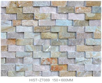 Ceramic Tiles Home Balcony Wall Design Deco Natural Stone Veneer