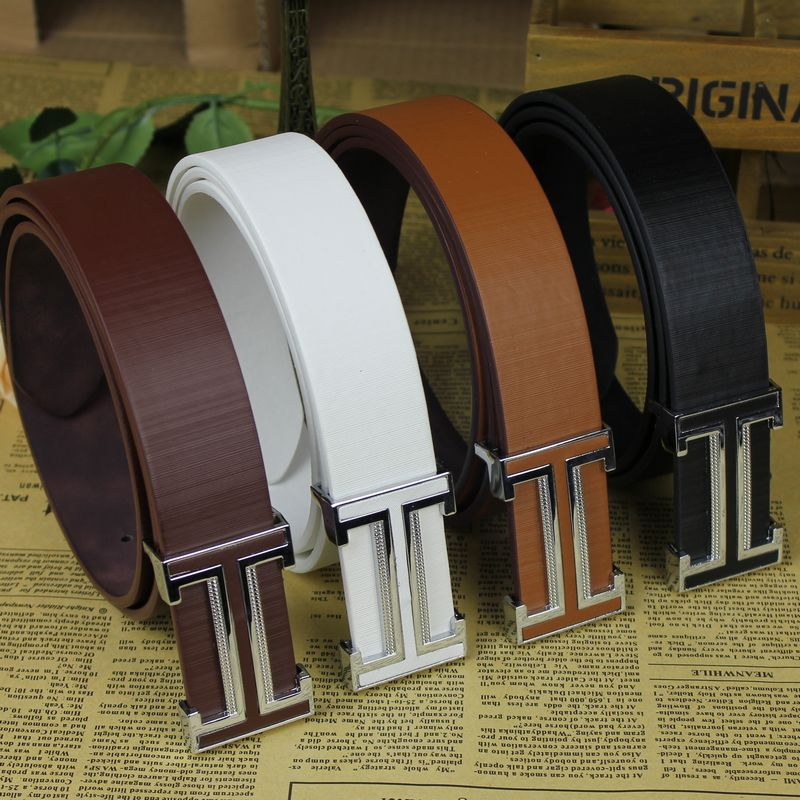 Belt Mens Luxury Real Leather Belts For Men Hot 4 colour leisure