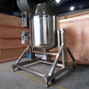 Stainless Steel Powder Rotary Food Drum Mixer