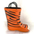 3D tiger printing rubber outsole rain boot with handles rain boots wholesale