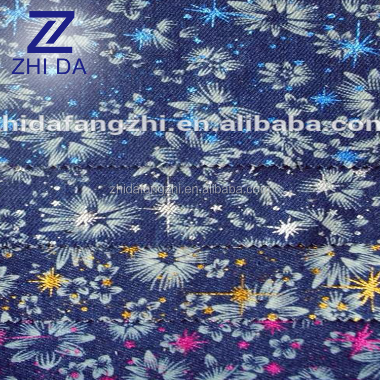 cheap blue camouflage fabric and camouflage denim fabric wholesale