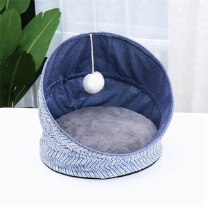 Pet cat nest folding Soft Luxury removable cat cave Pet Waterloo