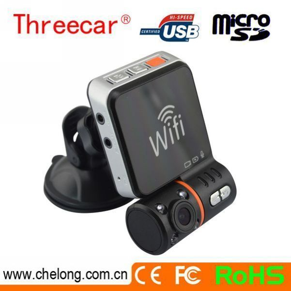 Free sample Wifi GPS function wide angle dvr net digital video recorder