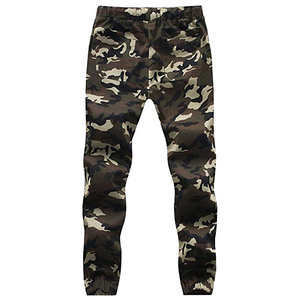 Hot selling camouflage Jogger Pants for Men Fashion Cotton Twill Chino Pants Regular Fit