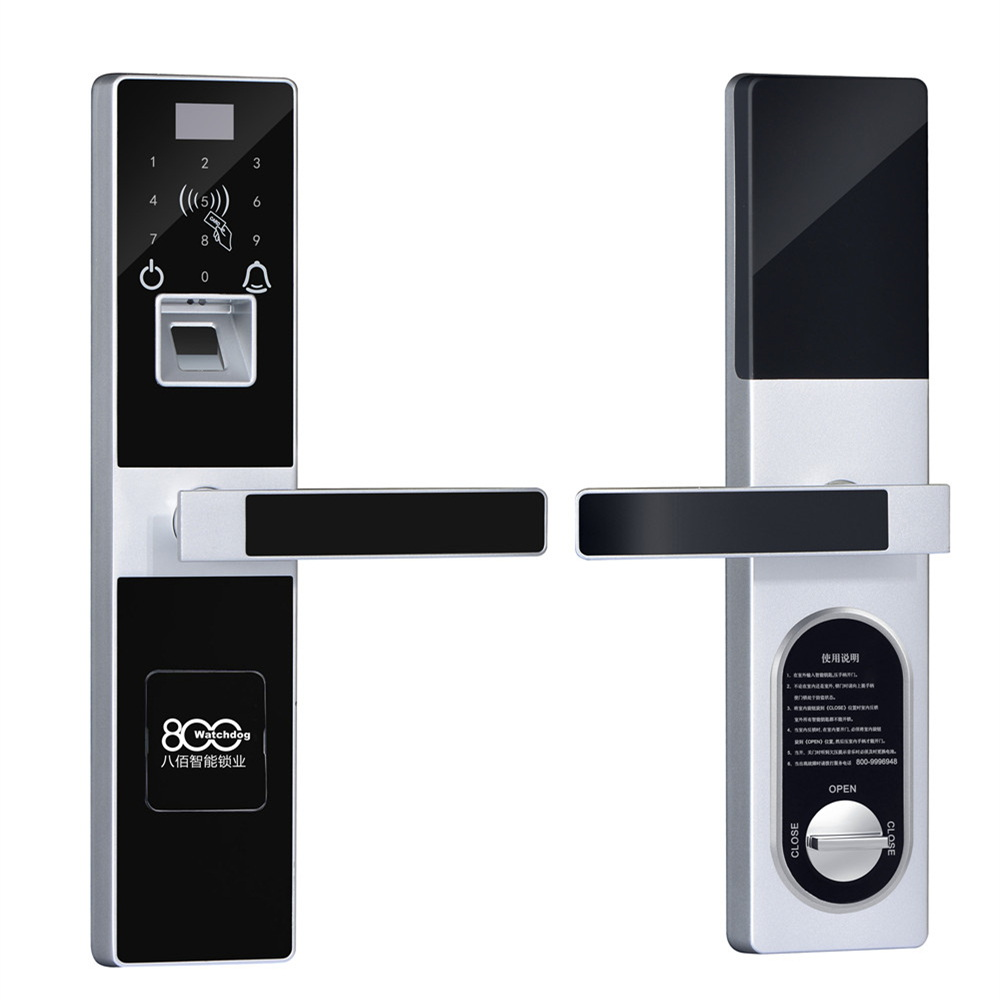 Top sale Key card phone controlled lock smart home automation door lock