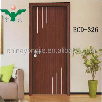 Hot Sale Melamine Wood Door With Types Interior Door Frames