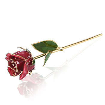 New Products 2018 24k Gold Rose Preserved Flower For Valentine