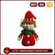 Wholesale personalized funny dolls red clothing leprechaun toy