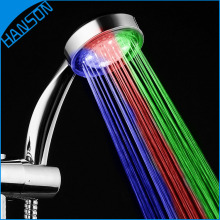 Alibaba Wholesale Color Changing Upc Water Saving Meteor Hand LED Shower Head