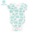 Happy flute 100% Cotton Short sleeve Knitted babies clothes packs Newborn baby clothes romper