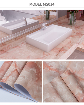 Water Proof Fire Proof Vinyl Marble Contact Paper Easily Diy Marble