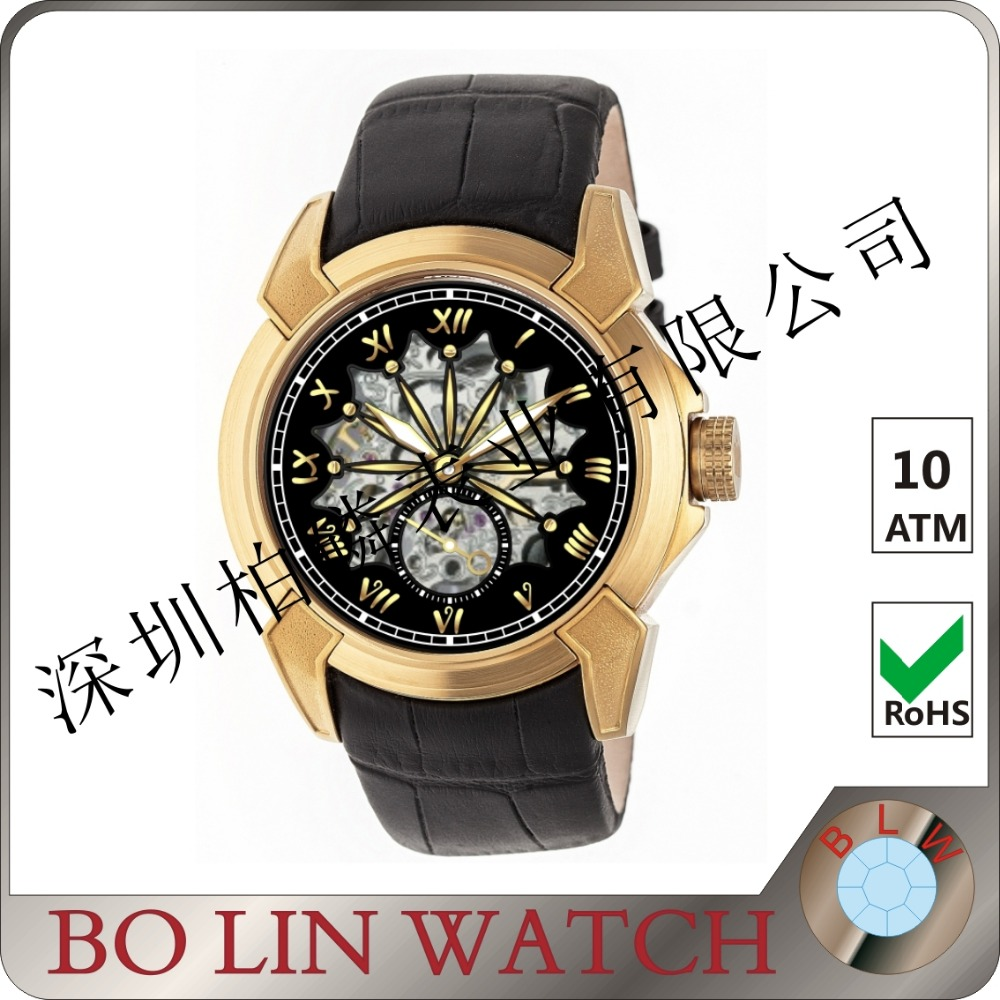 authentic watches discount, big face watches wholesale for men,automatic leather strap famous watch brands