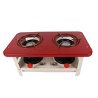double burner kerosene oil wick cooking stove