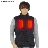 Waterproof Skiing Heated Jackets Vest Washable Smart Heating Vest