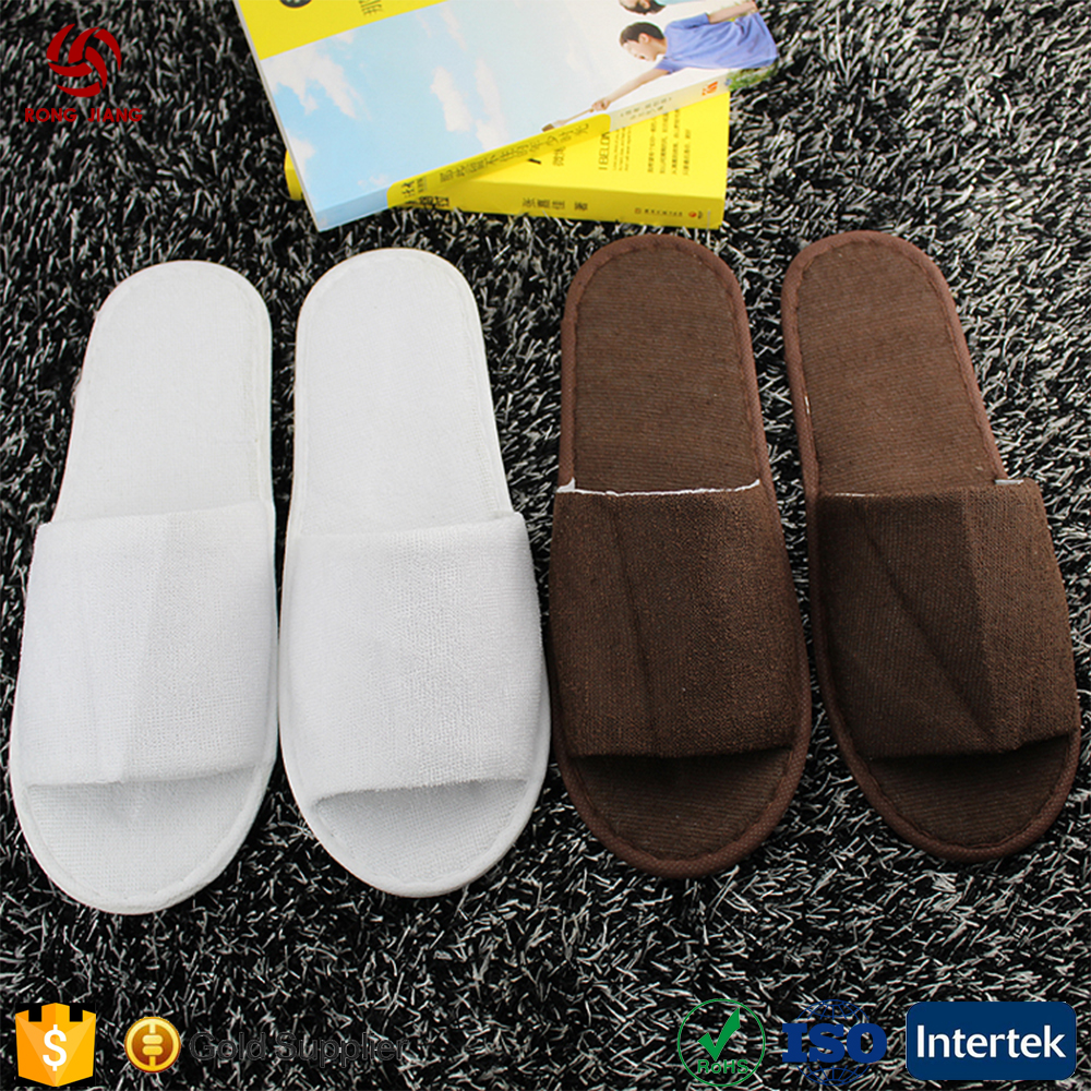 wholesale Five star open toe guest luxury soft eva disposable slippers