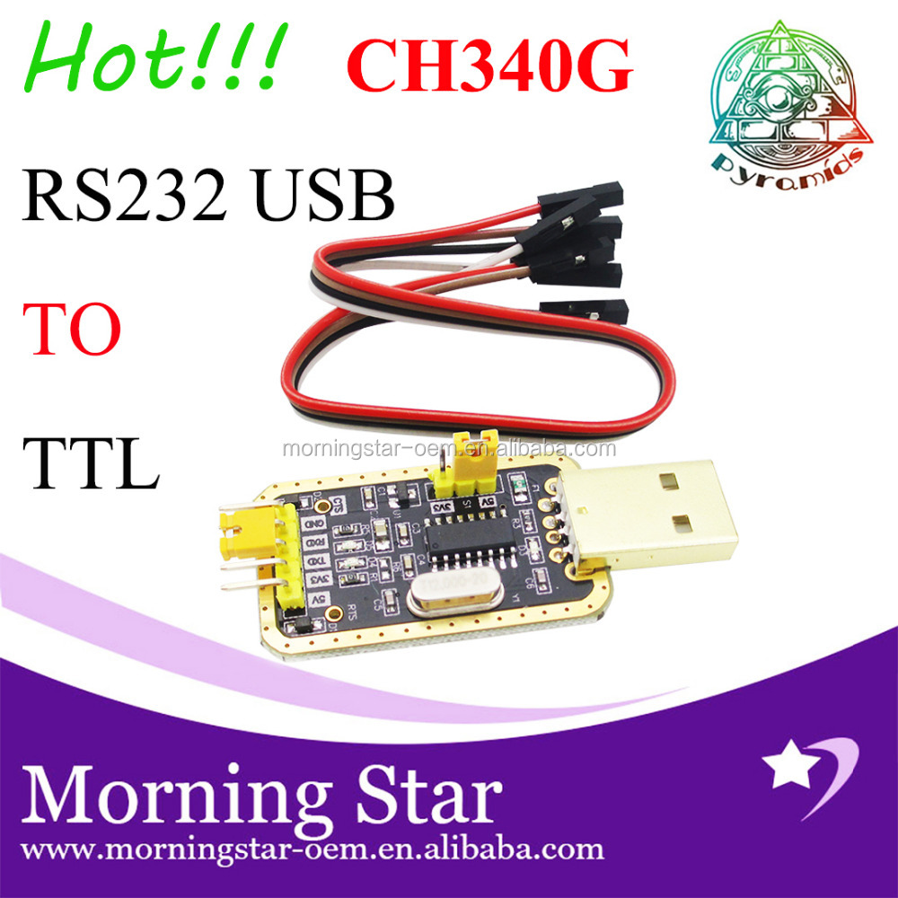 MZX Factory! CH340 module instead of PL2303 , CH340G RS232 to TTL module upgrade USB to serial port in nine Brush small plates