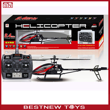 24g 4ch Single Propeller Rc Helicopterwith Gyroremote Control