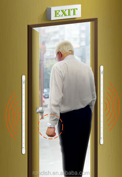 Elderly Security Alarm Systems Wireless Door Monitor Alarm