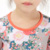 Howell kids clothes 2017 floral long sleeve dress latest children dresses