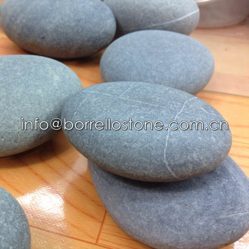 unpolished river pebble stone