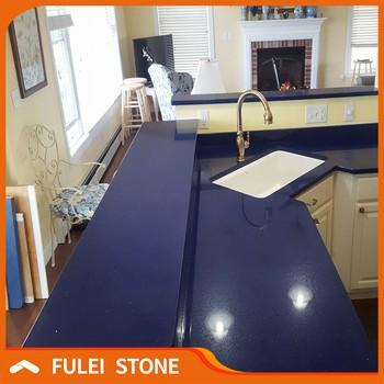 Arbeitsplatte Stone Blau