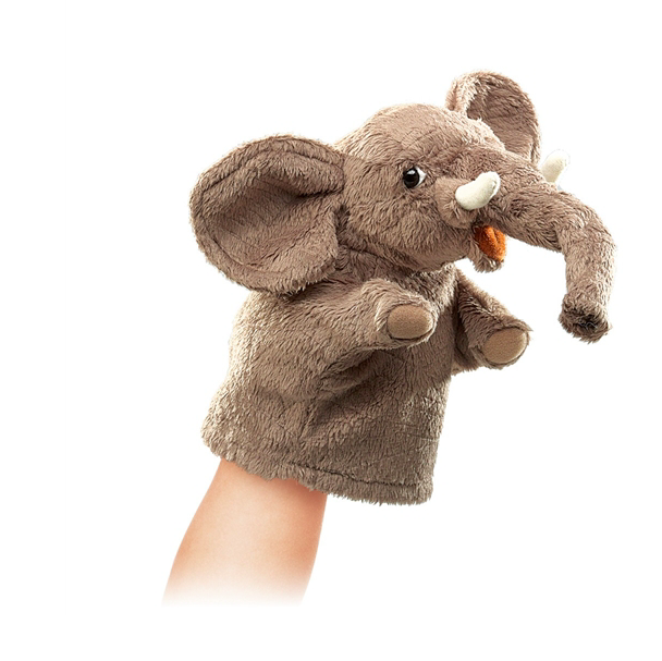 promotional fashional cute full body elephant hand puppet for sale