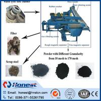 energy saving recycling tyre scrap plant for sale
