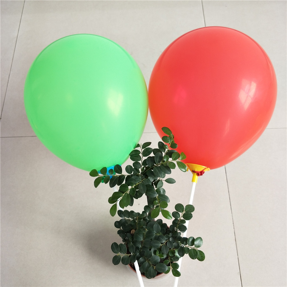 2018 assorted color thick helium balloon for arch kit stand