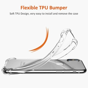 For iPhone Xs max Case TPU, High Quality Shockproof Clear TPU Phone Case For iPhone Xs max