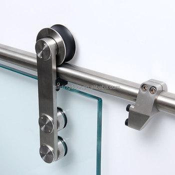 Hot Sale Modern Luxury Furniture Stainless Steel Sliding Barn Door Hardware  Made In China