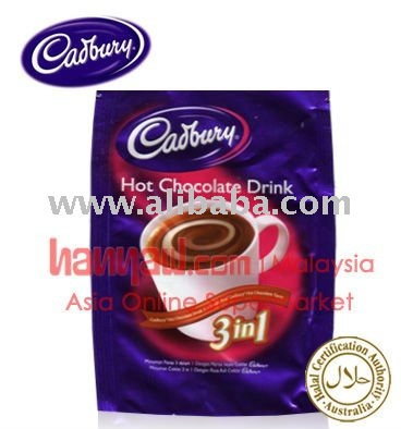 Cadbury Hot Chocolate Drink 3in1 Buy Instant Hot Chocolate Drink Product On Alibabacom