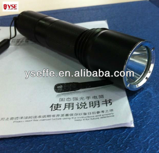 Professional battery light with IP68 protection grade