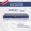 1U 19 inch 2 PON Ports EPON OLT Provides 2GE(Copper) and 2SFP Slots Independent Interface for Uplink