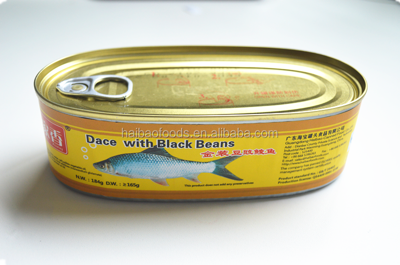 184g Canned Dace With Black Bean